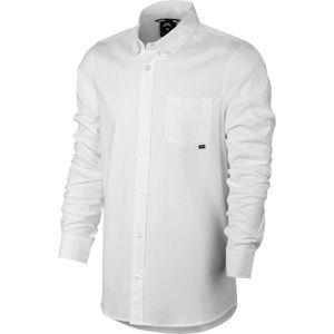 New Nike SB Flex Long Sleeve Oxford Shirt - Medium